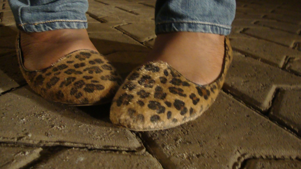 I looooove these loafers. I think this is where my love for animal print anything came from. Aren't they just the cutest?