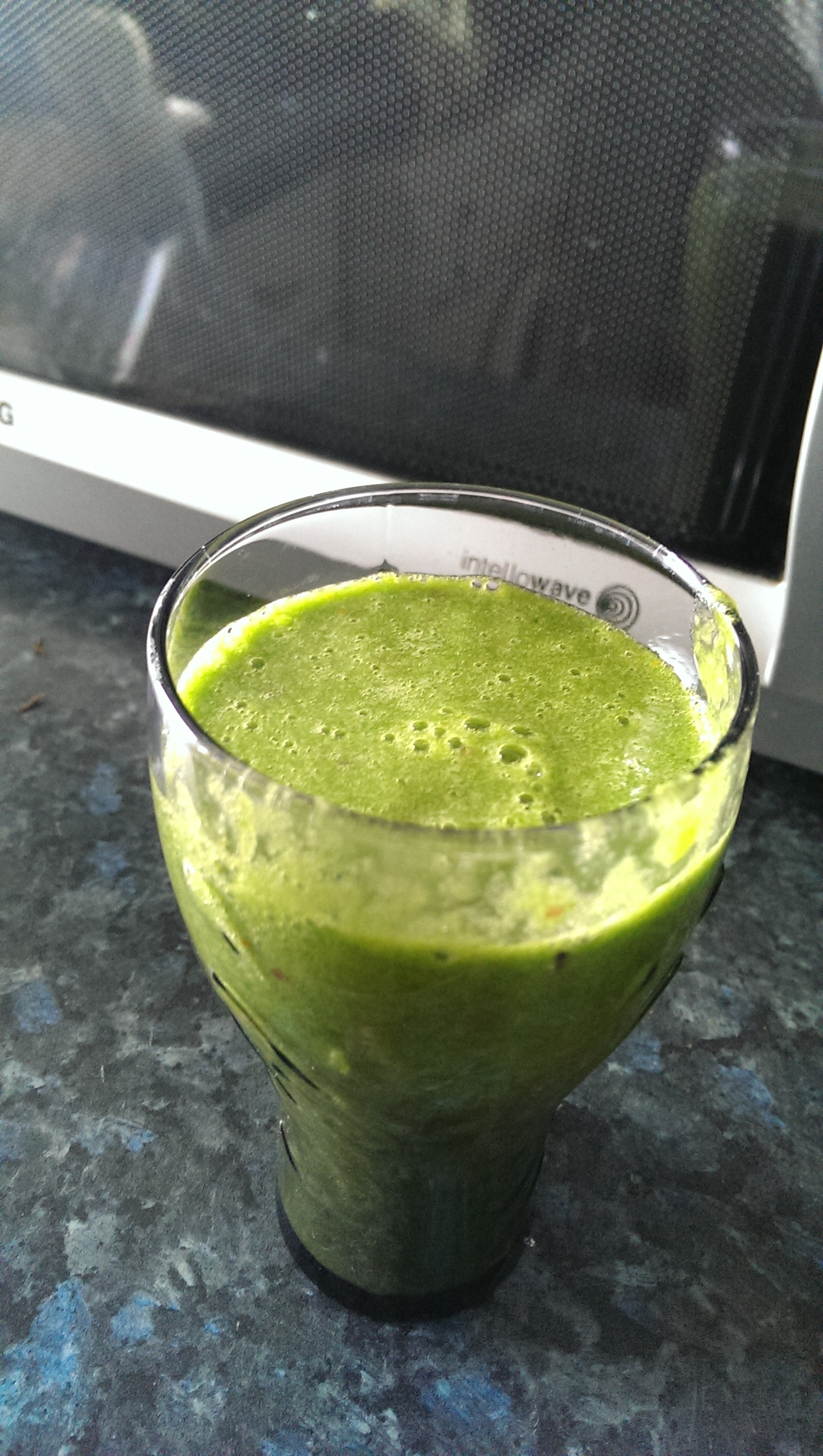 Another green smoothie